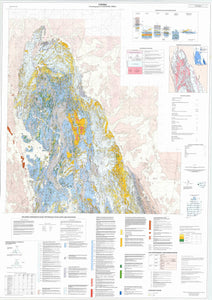 Image of Corona Kantappa Creek 1:25000 Geological map