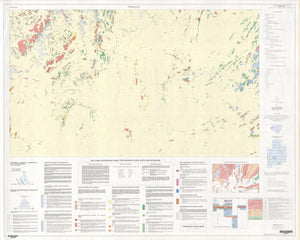 Image of Pinnacles 1:25000 Geological map