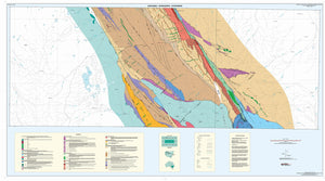 Image of Bancannia Wonnaminta Kayrunnera 1:100000 Geological Interpretation map