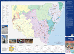 Image of Industrial Minerals New South Wales 1:1500000  map