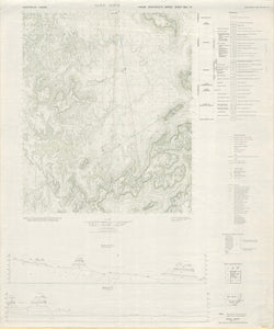Image of Glen Alice 1:50000 Geological map