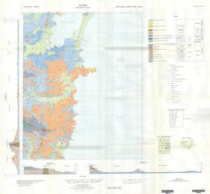 Image of Kiama 1:50000 Geological map