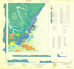 Image of Wollongong 1:50000 Geology map