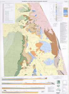 Image of Gunnedah Coalfield North Regional 1:100000 Geology map