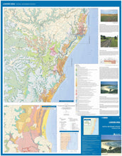 Load image into Gallery viewer, Image of Lismore Area Coastal Quaternary Geology map