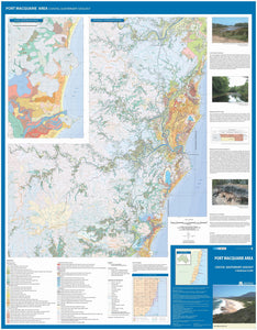 Image of Port Macquarie Area Coastal Quaternary Geology map