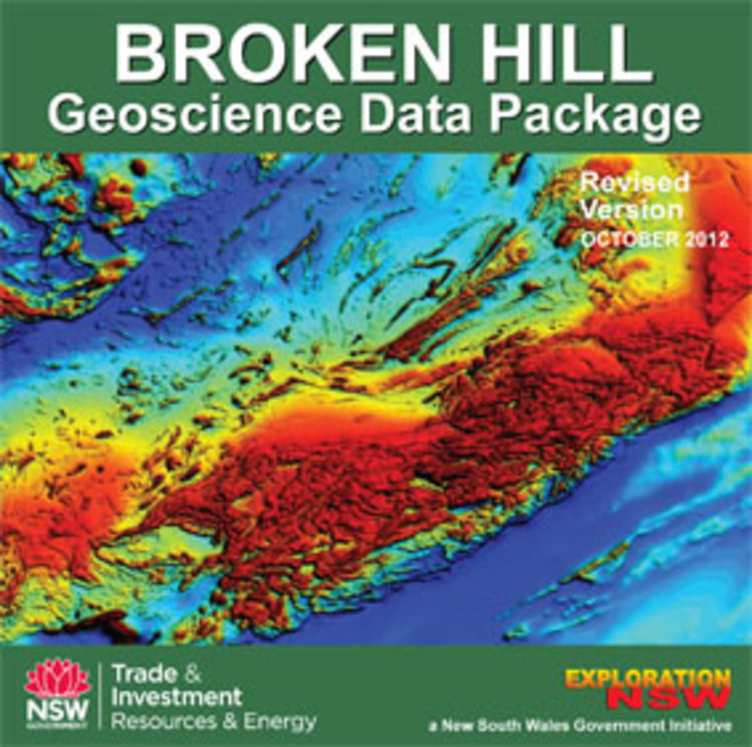Image of Broken Hill Geoscience Database Revised version digital data package