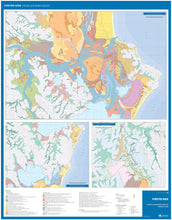 Load image into Gallery viewer, Image of reverse side of Forster Area Coastal Quaternary Geology map