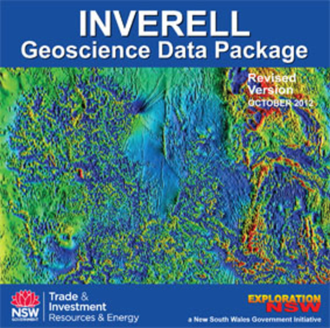 Image of Inverell Geoscience Database Revised version digital data package