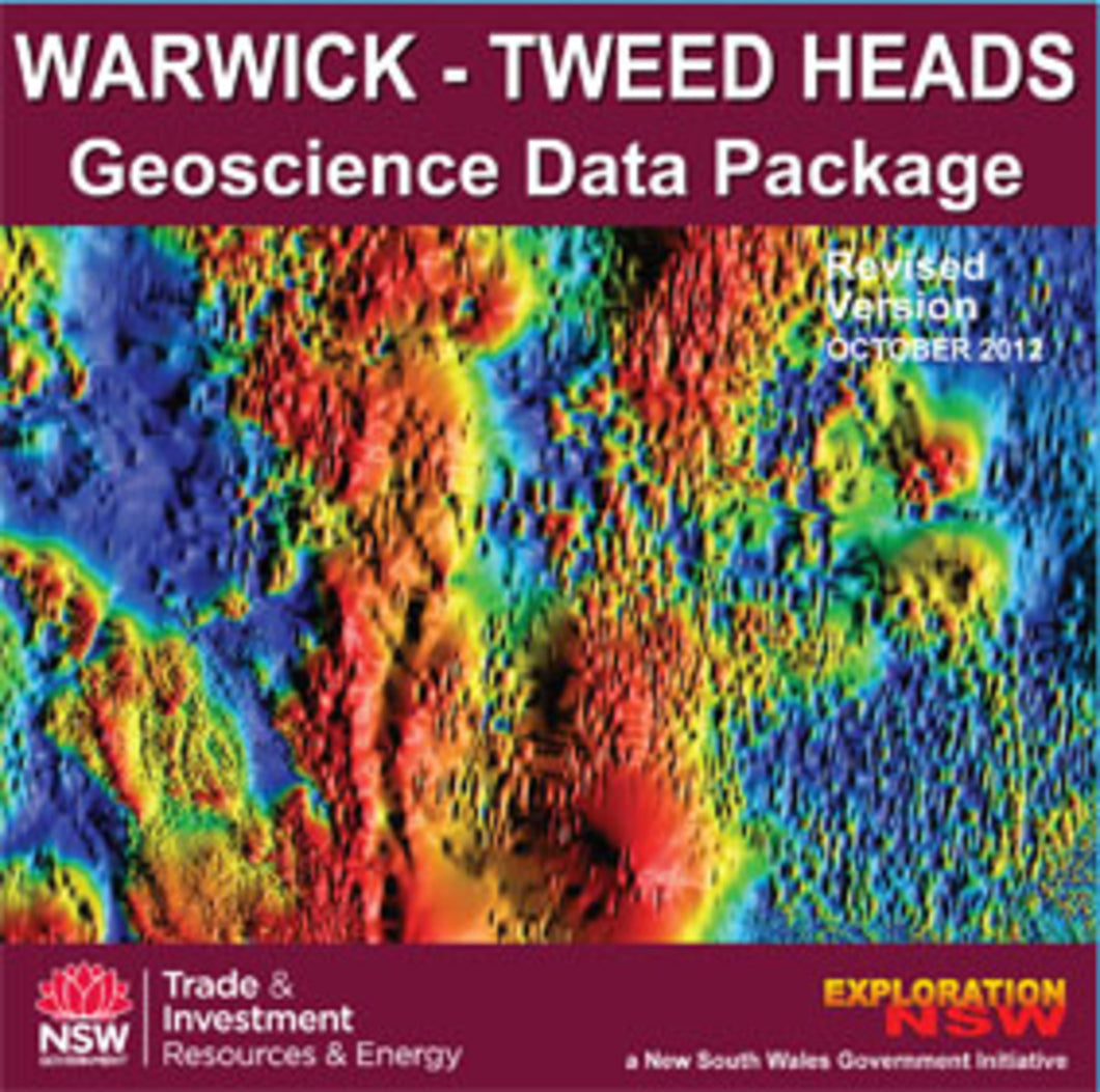 Image of Warwick Tweed Heads Geoscience Data Package 2001 Revised 2012 digital data package