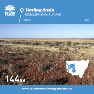 Image of Darling Basin Petroleum Data Package digital data package
