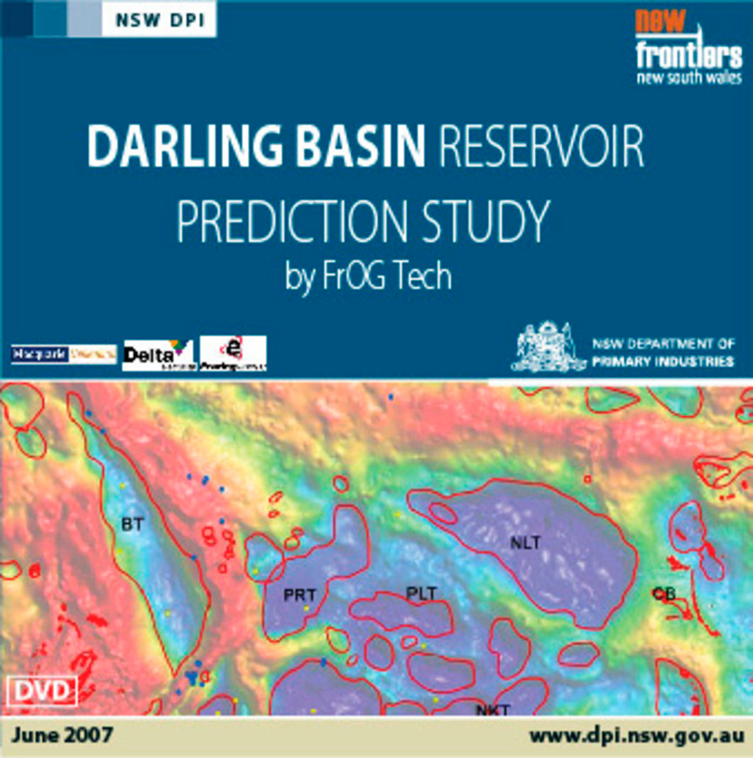 Image of Darling Basin Reservoir Prediction Study digital data package