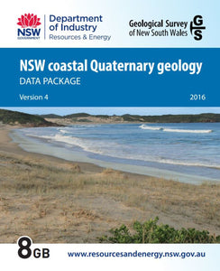 Image of New South Wales Coastal Quaternary Geology Data Package digital data package