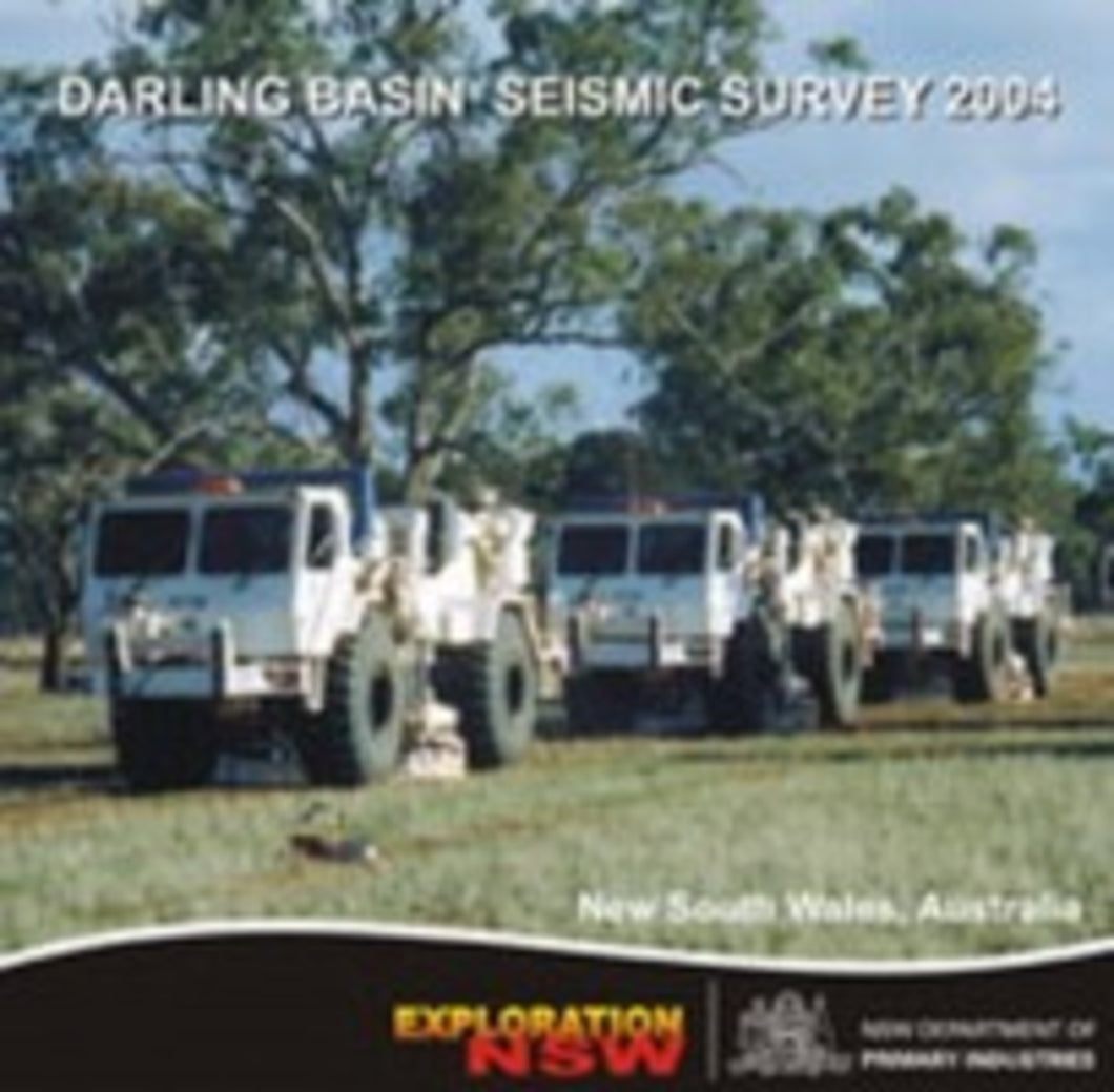 Image of Darling Basin Seismic Survey 2004 digital data package
