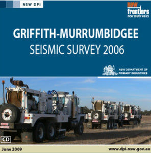 Image of Griffith Murrumbidgee Seismic Survey 2006 digital data package