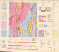 Image of Araluen 1:100000 Geological map