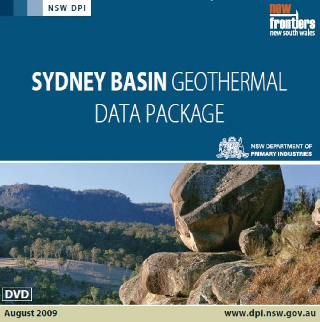 Image of Sydney Basin Geothermal Data Package digital data package