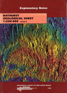 Image of Bathurst Explanatory Notes 1998 book cover
