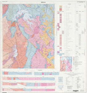 Image of Berridale 1:100000 Geological map