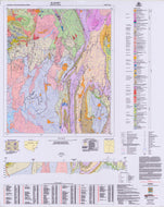 Image of Blayney 1:100000 Geological map