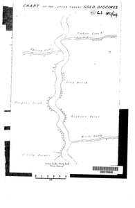 Image of Chart of the Turon Gold Diggings, Sofala, Bathurst, 1851  map