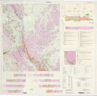 Image of Bobadah 1:100000 Geological map