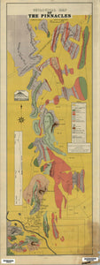 Image of Geological Map of the Pinnacles, Broken Hill Region   1920  map