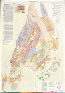 Image of Broken Hill Block Stratigraphic 1:100000 Geological map