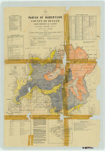 Image of County of Buller, Parish of Robertson  map