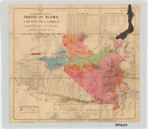 Image of County of Camden, Parish of Kiama  map