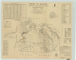 Image of County of Murchison, Parish of Bingara  map