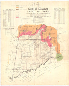 Image of County of Napier, Parish of Narangarie  map