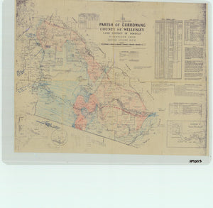Image of County of Wellesley, Parish of Currowang  map