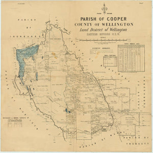 Image of County of Wellington, Parish of Cooper  map