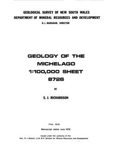 Image of Michelago Explanatory Notes 1979 book cover