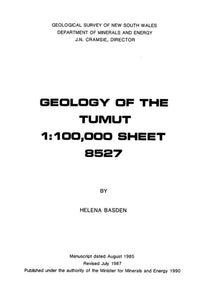 Image of Tumut Explanatory Notes 1990 book cover