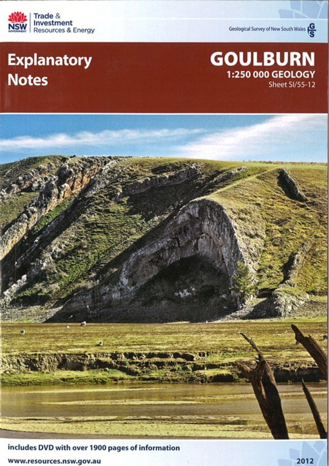 Image of Goulburn Explanatory Notes book cover