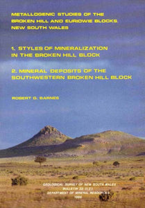 Image of Bulletin Number 32 parts 1 and 2   1988: Metallogenic Studies of the Broken Hill and Euriowie Blocks in New South Wales. book cover
