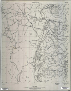 Image of Cessnock 1:100000 Geological map