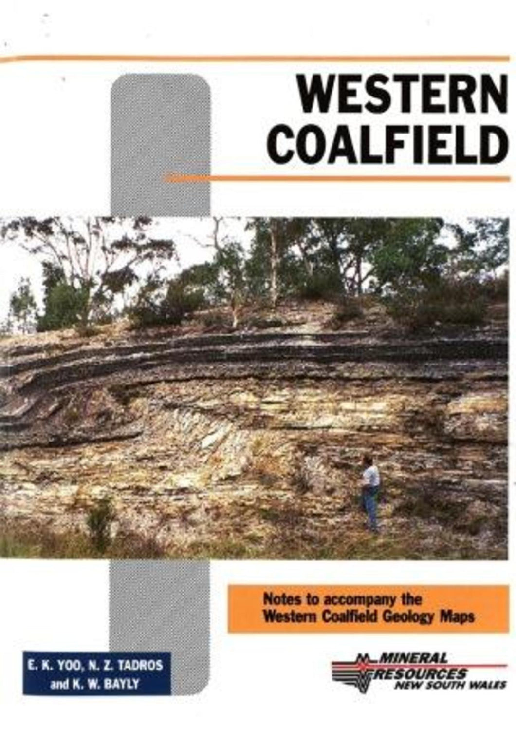 Image of Western Coalfield Geological Explanatory Notes 2001 book cover