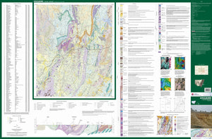 Image of Goulburn 1:100000 Geological map