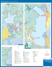 Load image into Gallery viewer, Image of reverse side of Central Coast Area Coastal Quaternary Geology map