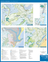 Load image into Gallery viewer, Image of reverse side of the Newcastle Area Coastal Quaternary Geology map