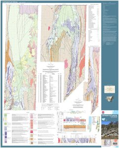 Image of Captains Flat Special 1:50000 Geological map