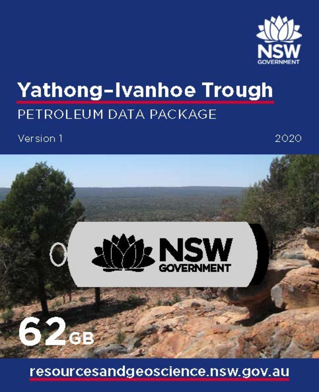 Image of Yathong   Ivanhoe Trough Petroleum Data Package digital data package