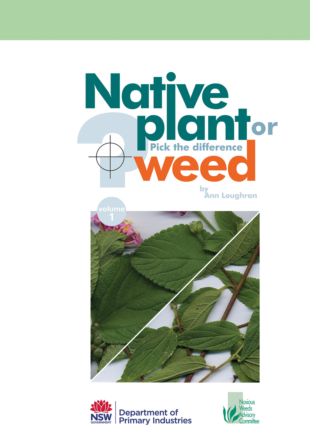 Native and weed 1 bookcover