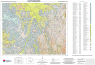 Soil Landscapes of the Cootamundra 1:250,000 Sheet map