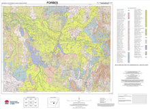 Load image into Gallery viewer, Soil Landscapes of the Forbes 1:250 000 Sheet map