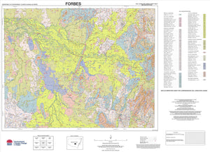 Soil Landscapes of the Forbes 1:250 000 Sheet map