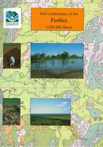 Soil Landscapes of the Forbes 1:250 000 Sheet report cover